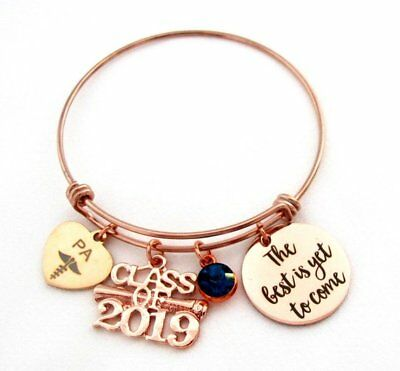 Physician Assistant Bracelet PA Medical Charm PA graduation gift PA bangle gift
