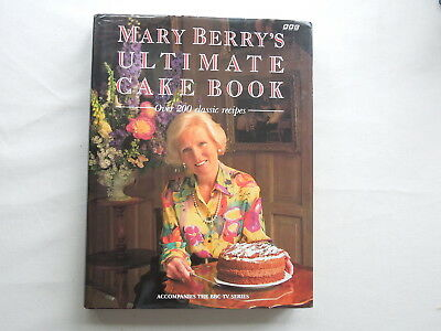 Mary Berry's Ultimate Cake Book Hand Signed By Mary Berry Hardback 1994