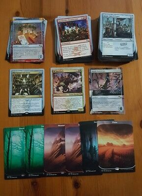 MTG Unstable Job Lot - 94 Cards with Full Art Lands
