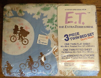 Rare Sealed In Original Package ET Sheets And Pillow Case 1982