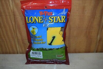 Y-Tex Lone Star Large Yellow Ear Tags #1-25