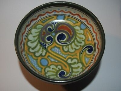 Antique Gouda Holland Pottery Compote - Ivora - 30G - Small Compote