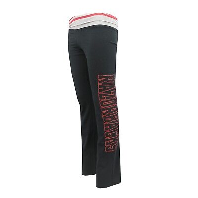 Arkansas Razorbacks NCAA Adidas Youth Girls Size Yoga Roll Style Sweatpants New