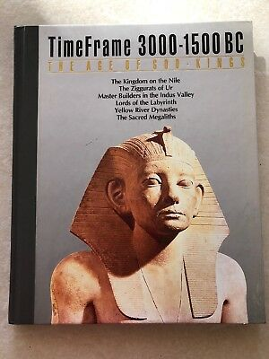 TimeFrame 3000-1500 BC: The Age Of God Kings by Time/Life 1987, Hardcover