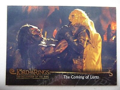 TOPPS Card : LOTR The Fellowship Of The Ring  #61 THE COMING OF LURTZ