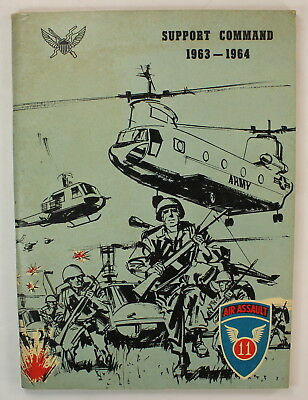 11th Airborne Air Assault Division 1963 1964 Pictorial Unit History Cruise Book
