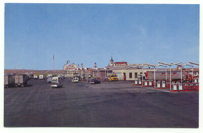 Little America Travel Center world's Largest service station Postcard - Wyoming