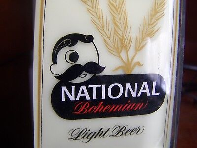 3182960aa Vintage MR. NATTY BOH NATIONAL BOHEMIAN LIGHT BEER Tap Handle Knob Sign  Ball Bar