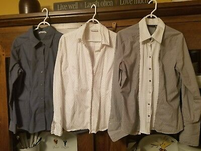 New York And Company On Down Shirt Size Xl Lot