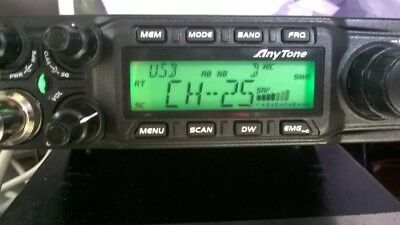 AnyTone AT-6666 HF Mobile Radio/Transceiver, 40 CH/VFO