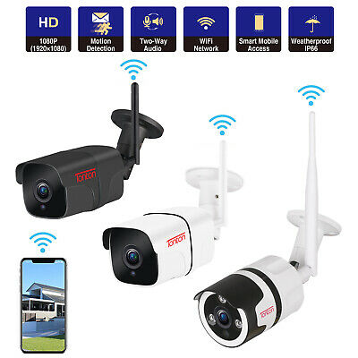 Tonton 1080P Wireless IP Camera WIFI Outdoor Security HD IR Night Network Motion