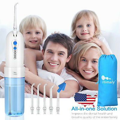 Electric Dental Water Flosser Jet Pick Cordless Oral Irrigator Teeth Clean Tool