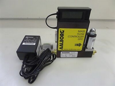 Aalborg GFC171 Mass Flow Controller GFC N2 0-50 with Adapter