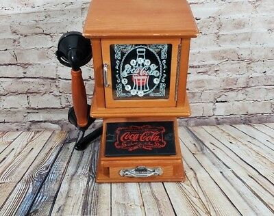 COCA-COLA NOSTALGIC Wall Hanging Push Phone Retro Telephone Vintage