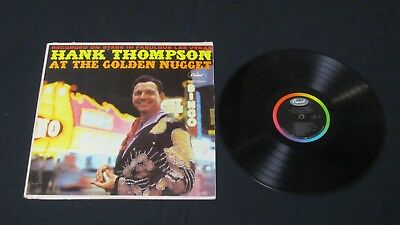 Hank Thompson Live At The Golden Nugget Vinyl Lp 1962 Records Honky Tonk Girl!!!
