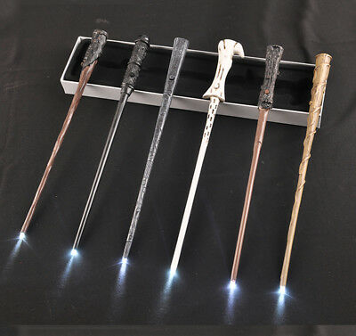 Harry Potter Magic Wand LED Light-up Dumbledore Lord Voldemort Christmas Cosplay