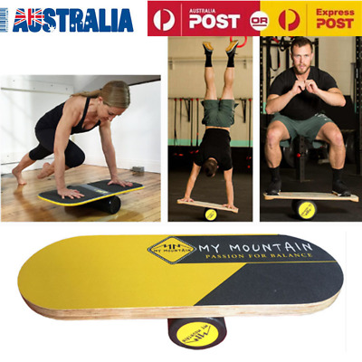 Balance Board Trainer w/Roller for Surf Standing Strength Stability Improvement