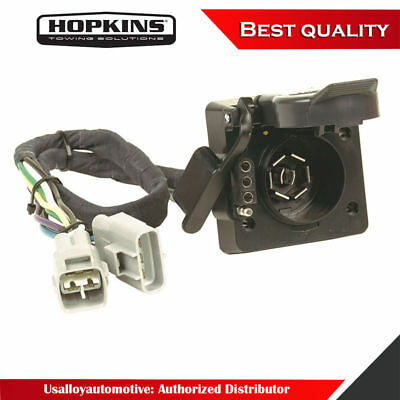 Brilliant Hoppy 11141175 Plug In Simple Trailer Hitch Wiring Kit Ebay Wiring Wiring Cloud Hisonuggs Outletorg
