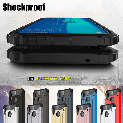 For Huawei Y9 2019 Y5 Y6 2018 Mate 20X Shockproof Cover Hard Hybrid Armor Case