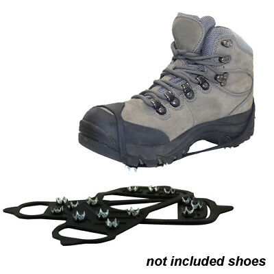 Ice Snow Grips Crampon Spikes Gripper for Shoes Boots Overshoe Anti Slip M/L,UK