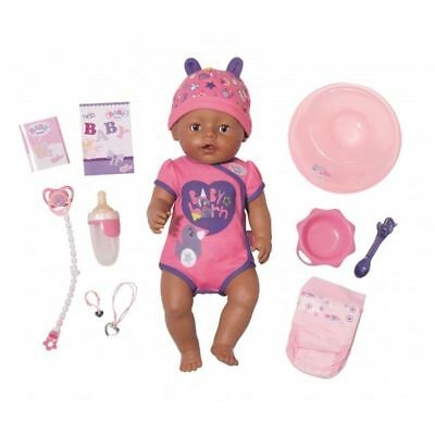 Baby Born Soft Touch Girl Doll With Brown Eyes