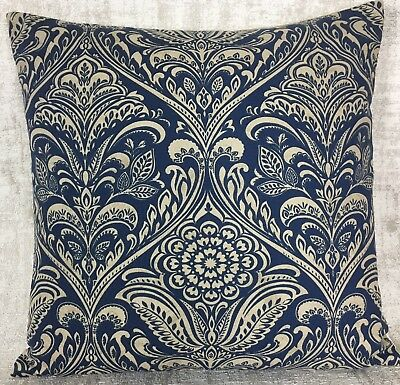 ILIV Hidcote Claret Red Cushion Cover Damask Royal 18x18 Double Sided
