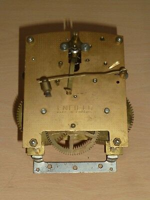 Enfield Made in England striking mantel clock movement for spares