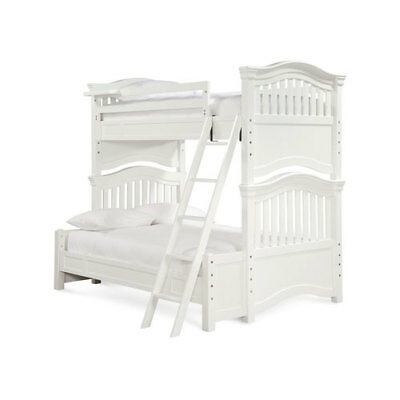 Smartstuff Furniture Classics 4.0 Summer White Twin over Full Bunk Bed - 131A590