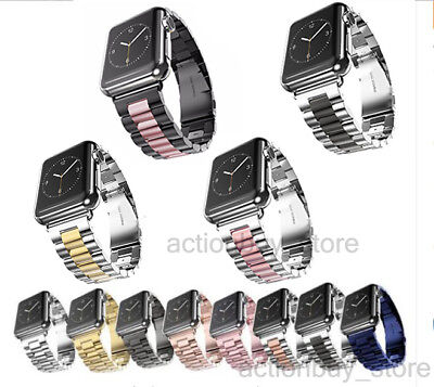 Metal Watch Band Stainless Steel Strap For Apple Watch iWatch Series 54/3/21 44m