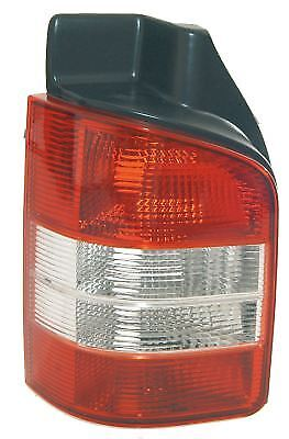 VOLKSWAGEN TRANSPORTER T5.1 2010 - Rear Tail Light Lamp Clear Ind LH Twin Door