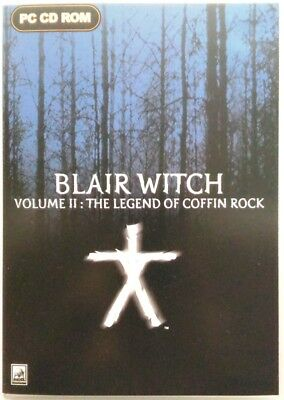 Gioco Pc Blair Witch Volume II The Legend of Coffin Rock - Take 2 2000 Usato