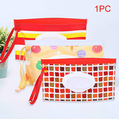 Clean Carrying Case Clutch Pouch Potable Wet Wipes Stroller Bag EVA