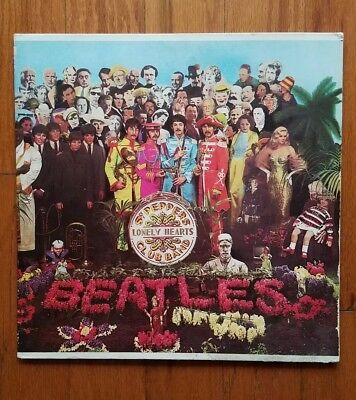 The Beatles~Sgt. Pepper's Lonely Hearts Club Band~Capitol MAS-2653 VG+-EX
