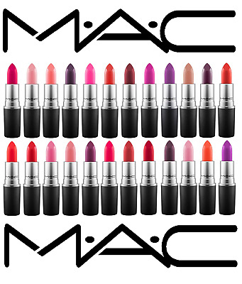 MAC Lipstick- Diva, Heroine, MAC RED, Russian Red + MORE (MATTE / SATIN / FROST)