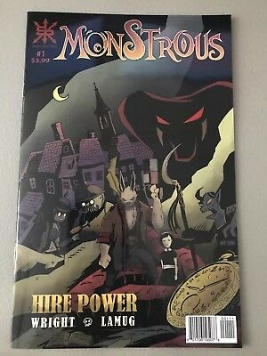 Monstrous #1 Source Point Press 2018 NM New
