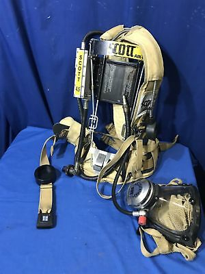 Scott 4.5 Wire Frame with Mask SCBA Yellow FREE SHIPPING