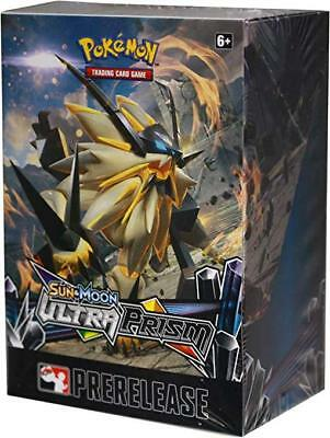 2X Pokemon TCG Sun & Moon Ultra Prism Prerelease Kit Booster Box BNIB