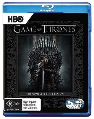 Game of Thrones : Season 1 - Bluray Region B Region B Free Shipping!