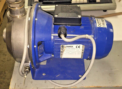 Lowara Cea2106/0, Single Impeller, Centrifugal Electric Pump, 3 Phase