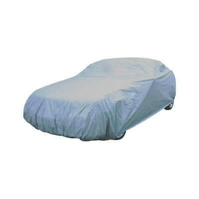 Heavy Duty Large Car Cover 100% Waterproof with Elasticated Hem Fits Fiat