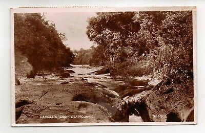 BLAIRGOWRIE CARGILL'S LEAP Valentine No 94551 Used Vintage Postcard K18