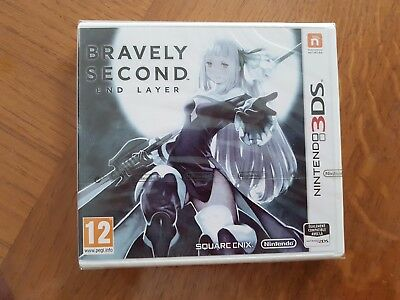 BRAVELY SECOND end layer Nintendo 3DS/2DS FR NEUF SOUS BLISTER