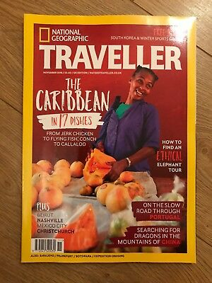 NATIONAL GEOGRAPHIC TRAVELLER NOV 2018 +FREE SOUTH KOREA&Winter Sport GUIDES