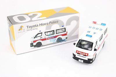 TINY City Hong Kong HK #02 Toyota Hiace Police Dog Diecast Toy Model Scale 1:64