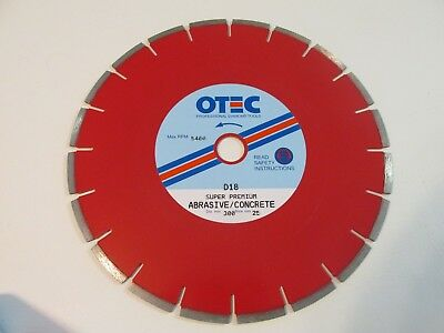 "Blade 12 Inch Diamond Tooth Saw Blade 1"" Center"