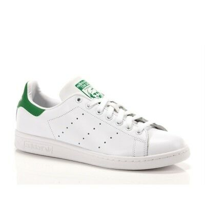 info for 5361c 4a592 Adidas Stan Smith M20324 Scarpe Sneakers Bianco Verde Uomo Donna Unisex