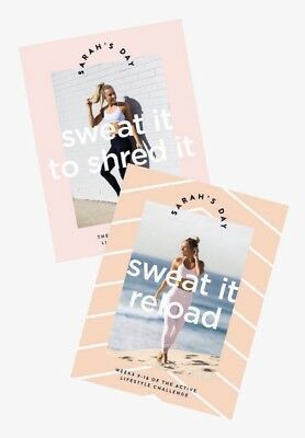 Sarah's Day Sweat It To Shred It & Sweat It Reload Bundle Workout/Fitness Guide