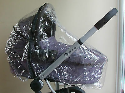 New RAINCOVER Zipped fits QUINNY BUZZ Dreami Carrycot & Seat Stroller