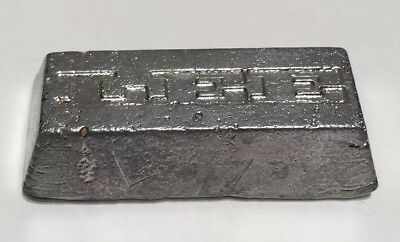 PEWTER INGOT for JEWELLERY-MODEL-CASTING recycled scrap pew- Lead Mix 330g aprox