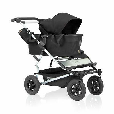 Mountain Buggy Duet Single Buggy Baby Stroller, Black BOX DAMAGE